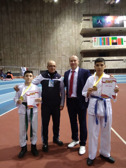 Azerbaijani national team succeeds...